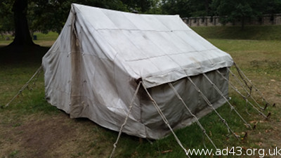 Leather tent